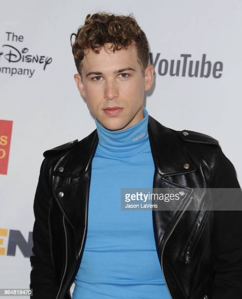 Actor Tommy Dorfman attends the 2017 GLSEN Respect Awards at the Beverly Wilshire Four Seasons Hotel on October 20 2017 in Beverly Hills California