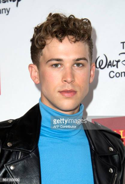 Actor Tommy Dorfman attends The 2017 GLSEN Respect Awards on October 20 in Beverly Hills California / AFP PHOTO / VALERIE MACON