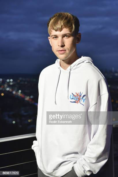 Actor Tommy Dorfman attends the ASOS celebration of the retail debut of GLAAD's Together Movement with dinner at private residence on November 2 2017...