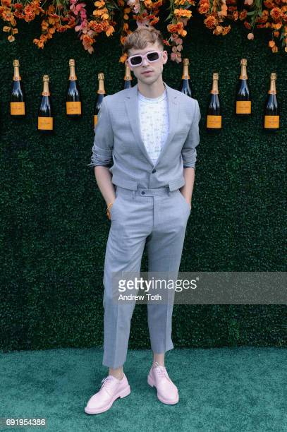 Actor Tommy Dorfman attends The Tenth Annual Veuve Clicquot Polo Classic at Liberty State Park on June 3 2017 in Jersey City New Jersey