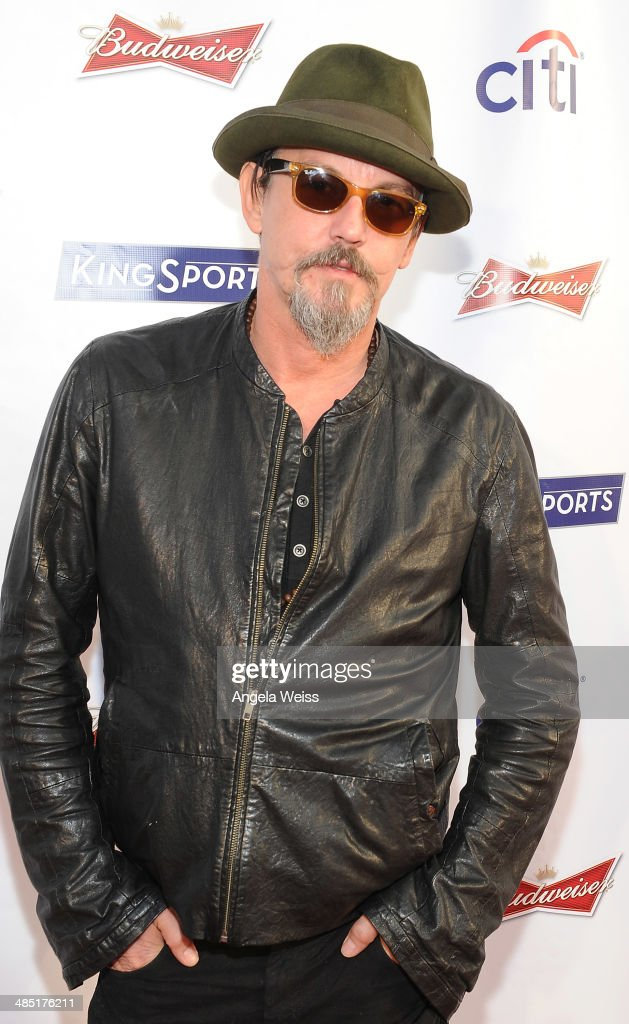 Actor <a gi-track='captionPersonalityLinkClicked' href=/galleries/search?phrase=Tommy+Flanagan+-+Actor&family=editorial&specificpeople=13422249 ng-click='$event.stopPropagation()'>Tommy Flanagan</a> attends Boxing at Barker presented by Budweiser at Barkar Hangar on April 16, 2014 in Santa Monica, California.