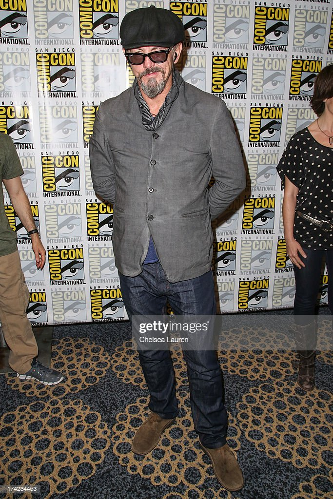 Actor <a gi-track='captionPersonalityLinkClicked' href=/galleries/search?phrase=Tommy+Flanagan+-+Actor&family=editorial&specificpeople=13422249 ng-click='$event.stopPropagation()'>Tommy Flanagan</a> attends the 'Sons of Anarchy' press line during day 4 of Comic-Con International on July 21, 2013 in San Diego, California.