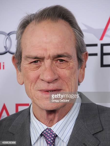 Actor Tommy Lee Jones arrives at the AFI FEST 2014 Presented By Audi 'The Homesman' Premiere at Dolby Theatre on November 11 2014 in Hollywood...