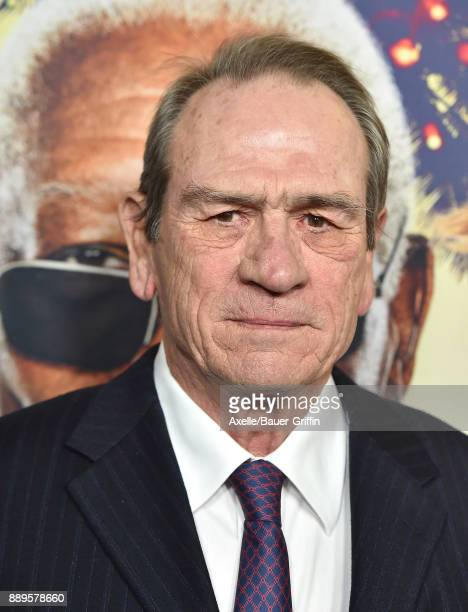 Actor Tommy Lee Jones arrives at the premiere of 'Just Getting Started' at ArcLight Hollywood on December 7 2017 in Hollywood California