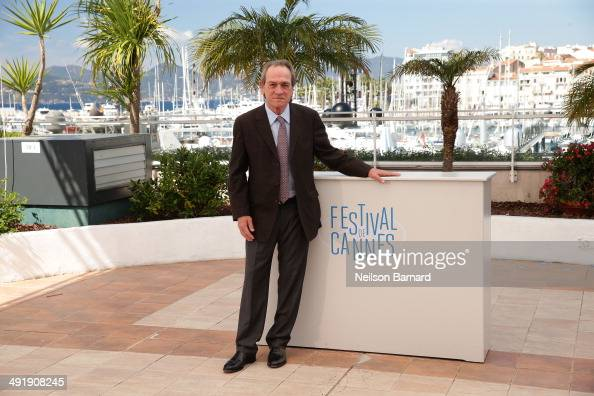 Actor Tommy Lee Jones attends 'The Homesman' photocall during the 67th Annual Cannes Film Festival on May 18 2014 in Cannes France