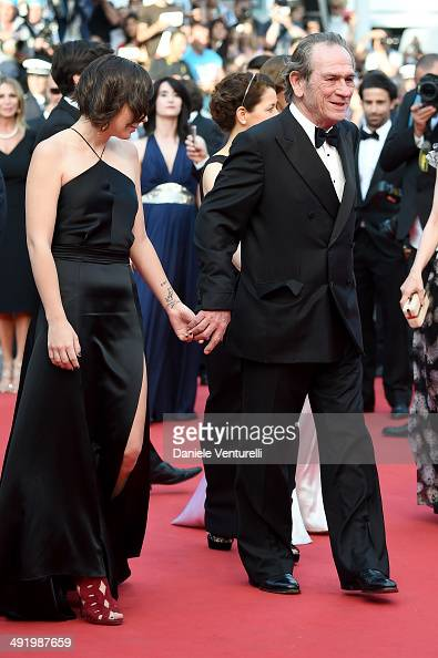Actor Tommy Lee Jones attends 'The Homesman' Premiere at the 67th Annual Cannes Film Festival on May 18 2014 in Cannes France