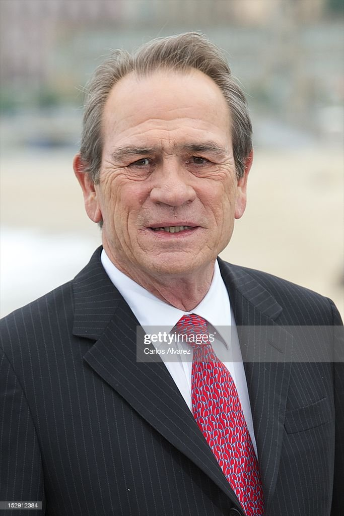 Actor Tommy Lee Jones attends the 'Hope Springs' (Si De Verdad Quieres) photocall at the Kursaal Palace during the 60th San Sebastian International Film Festival on September 28, 2012 in San Sebastian, Spain.