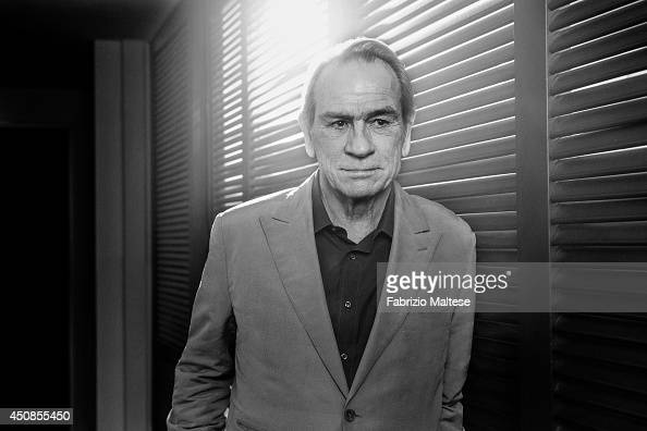 Actor Tommy Lee Jones is photographed for the Hollywood Reporter on May 19 2014 in Cannes France
