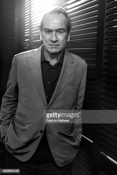 Actor Tommy Lee Jones is photographed on May 19 2014 in Cannes France