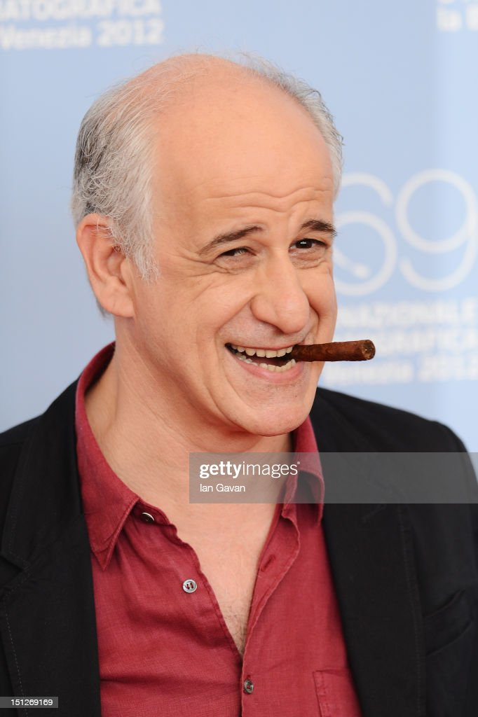 Actor Toni Servillo attends the 'Bella Addormentata' Photocall during the 69th Venice Film Festival at the Palazzo del Casino on September 5, 2012 in Venice, Italy.