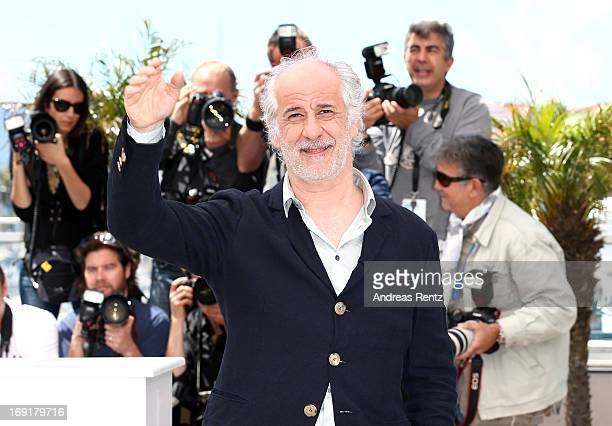 Actor Toni Servillo attends the 'La Grande Bellezza' Photocall during The 66th Annual Cannes Film Festival at the Palais des Festivals on May 21 2013...