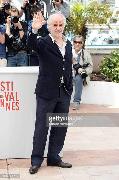 Actor Toni Servillo attends the photocall for 'La Grande Bellezza' during the 66th Annual Cannes Film Festival at Palais des Festivals on May 21 2013...