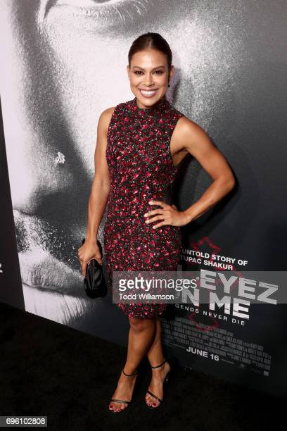 Actor Toni Trucks at the 'ALL EYEZ ON ME' Premiere at Westwood Village Theatre on June 14 2017 in Westwood California