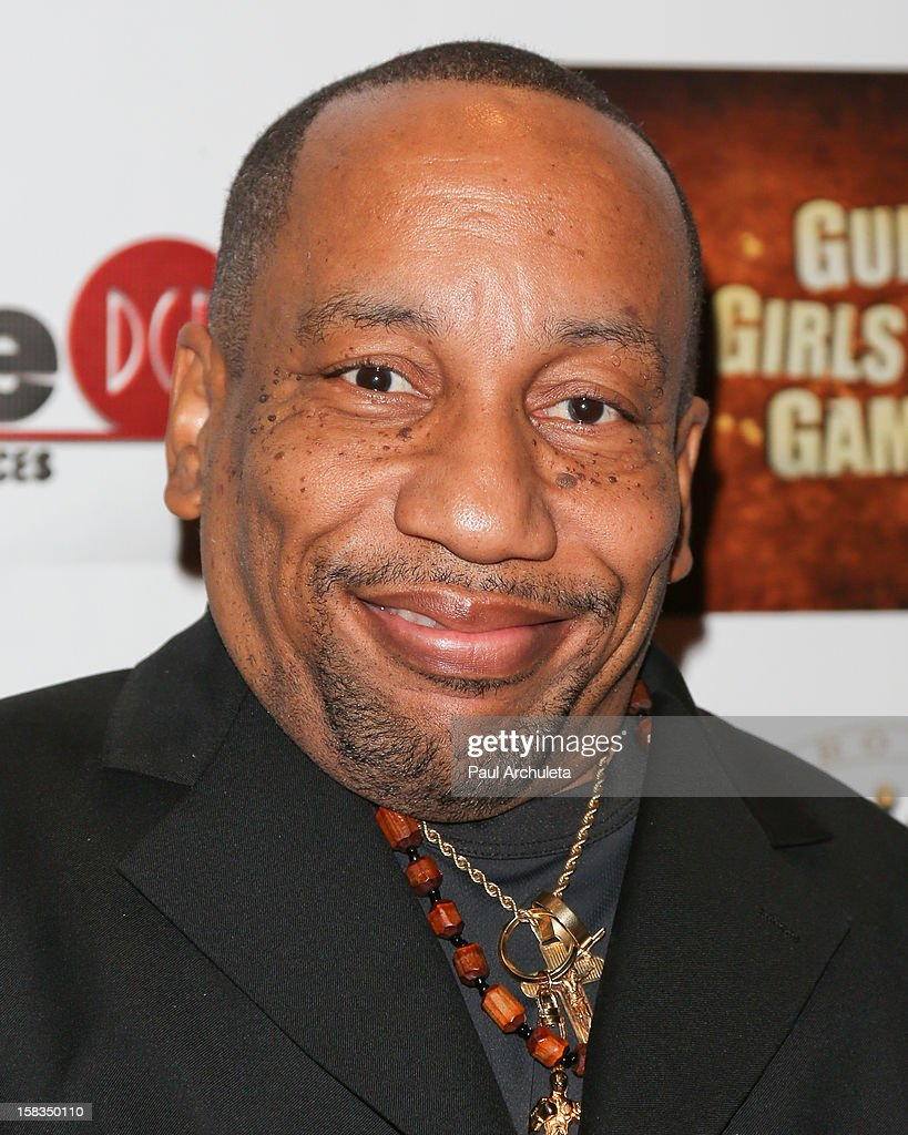 Actor <a gi-track='captionPersonalityLinkClicked' href=/galleries/search?phrase=Tony+Cox&family=editorial&specificpeople=2805931 ng-click='$event.stopPropagation()'>Tony Cox</a> attends the 'Guns, Girls & Gambling' screening at the Laemmle NoHo 7 on December 13, 2012 in North Hollywood, California.