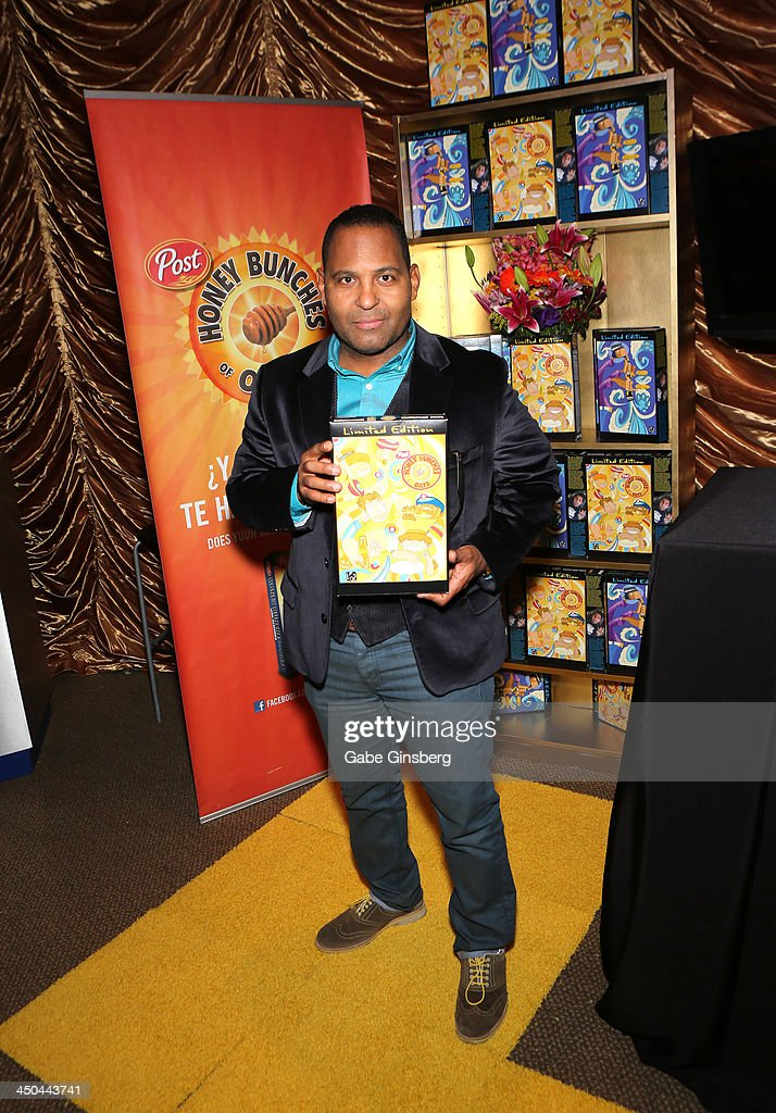 Actor Tony Dandrades attends a gift lounge during the 14th annual Latin GRAMMY Awards at the Mandalay Bay Events Center on November 18, 2013 in Las Vegas, Nevada.