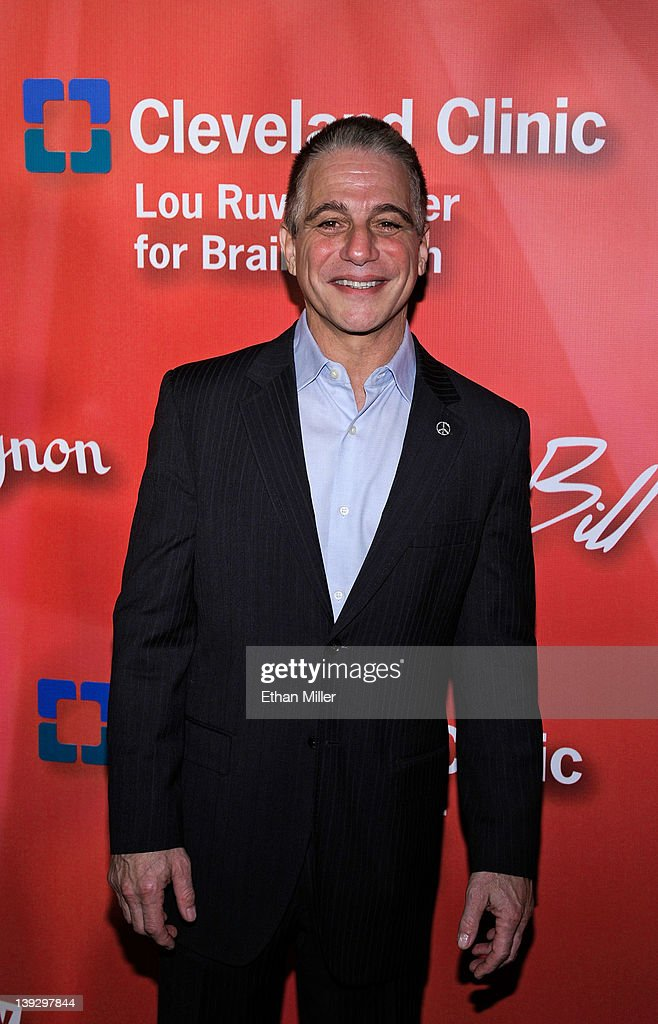 Actor Tony Danza arrives at the Keep Memory Alive foundation's 'Power of Love Gala' celebrating Muhammad Ali's 70th birthday at the MGM Grand Garden Arena February 18, 2012 in Las Vegas, Nevada. The event benefits the Cleveland Clinic Lou Ruvo Center for Brain Health and the Muhammad Ali Center.