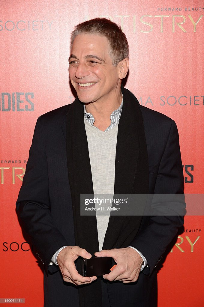 Actor <a gi-track='captionPersonalityLinkClicked' href=/galleries/search?phrase=Tony+Danza&family=editorial&specificpeople=203133 ng-click='$event.stopPropagation()'>Tony Danza</a> attends a screening of 'Warm Bodies' hosted by The Cinema Society at Landmark's Sunshine Cinema on January 25, 2013 in New York City.