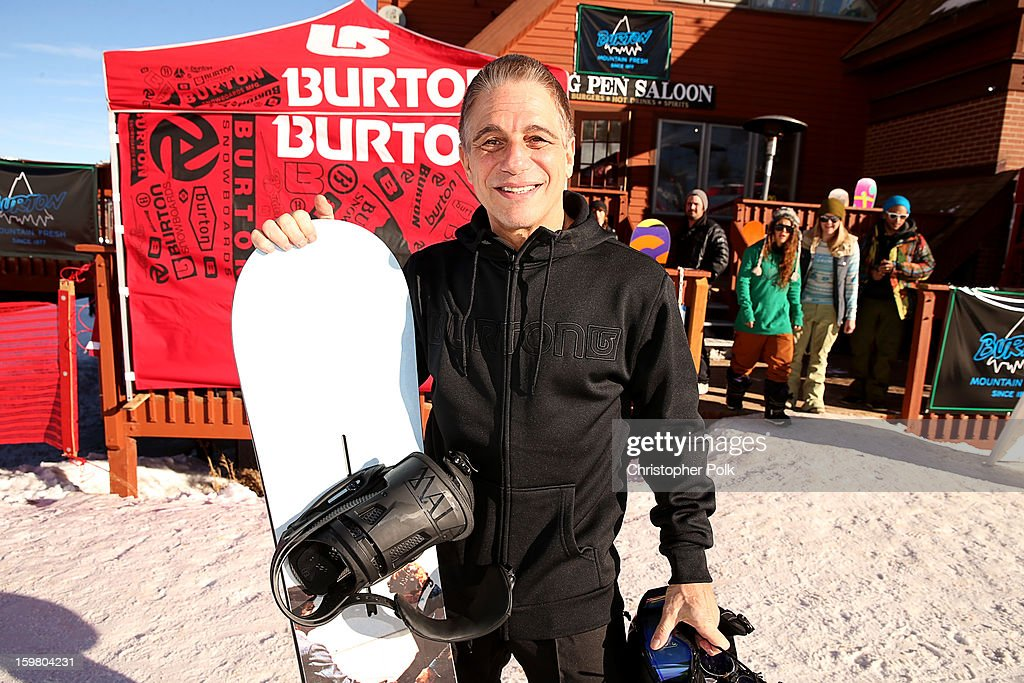 Actor <a gi-track='captionPersonalityLinkClicked' href=/galleries/search?phrase=Tony+Danza&family=editorial&specificpeople=203133 ng-click='$event.stopPropagation()'>Tony Danza</a> attends Burton Learn To Ride - Day 2 on January 20, 2013 in Park City, Utah.