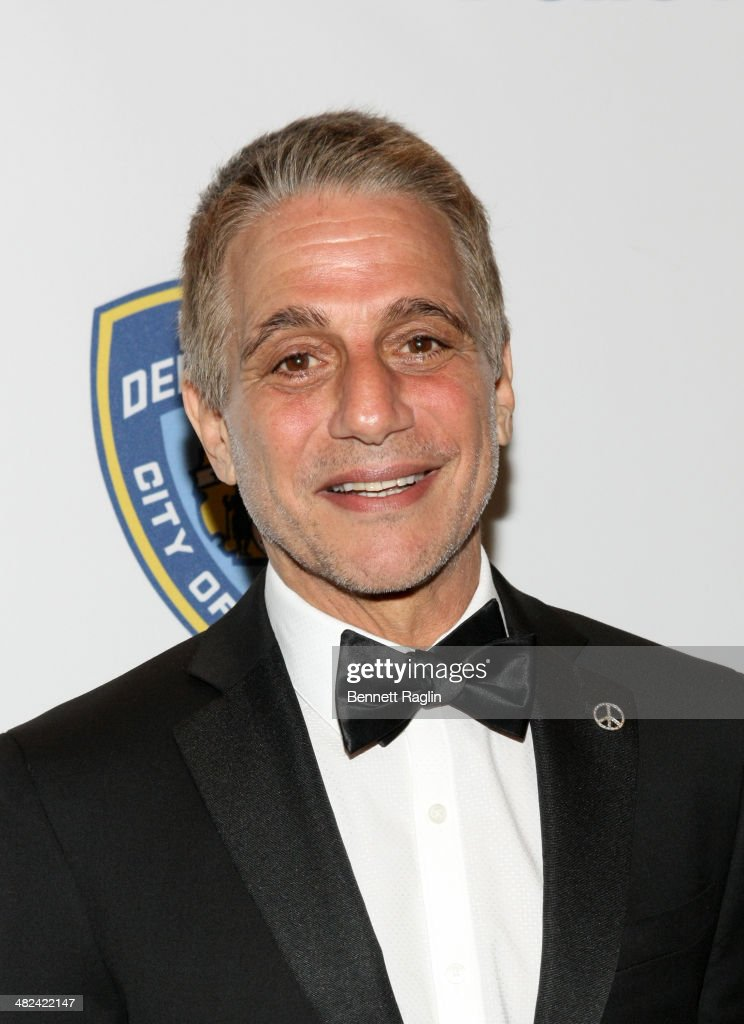 Actor Tony Danza attends the 2014 NYC Police Foundation Gala at The Waldorf=Astoria on April 3 2014 in New York City
