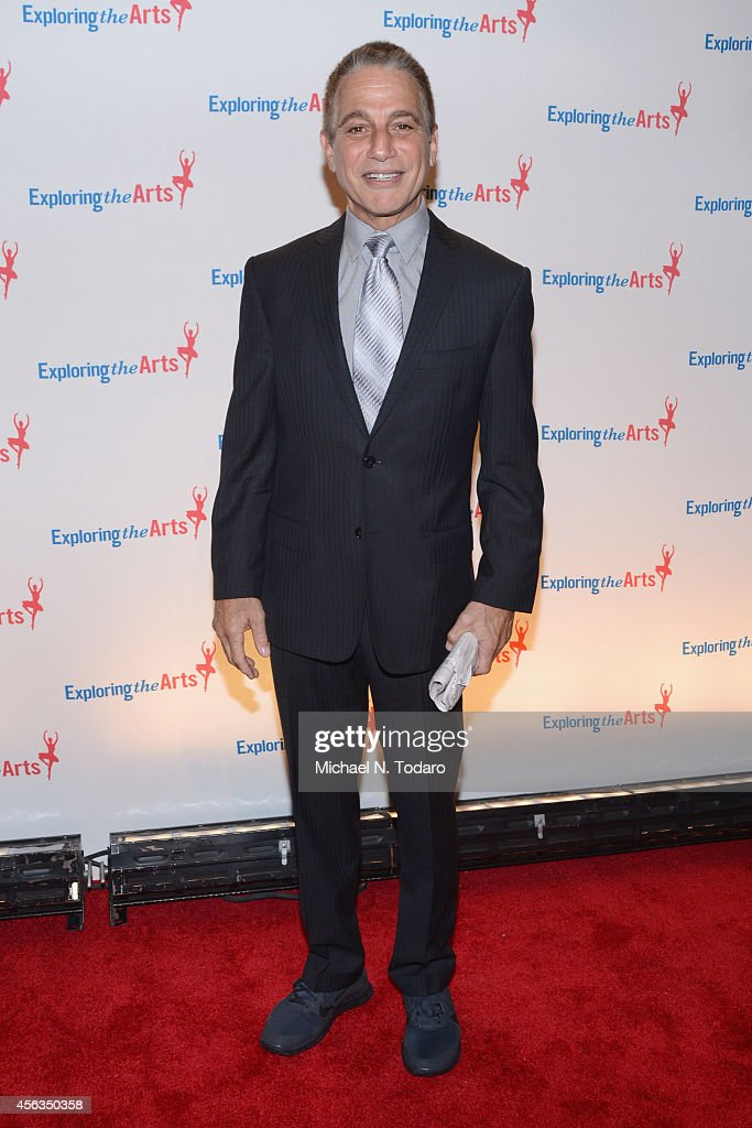 Actor Tony Danza attends the 8th Annual Exploring the Arts Gala at Cipriani 42nd Street on September 29 2014 in New York City