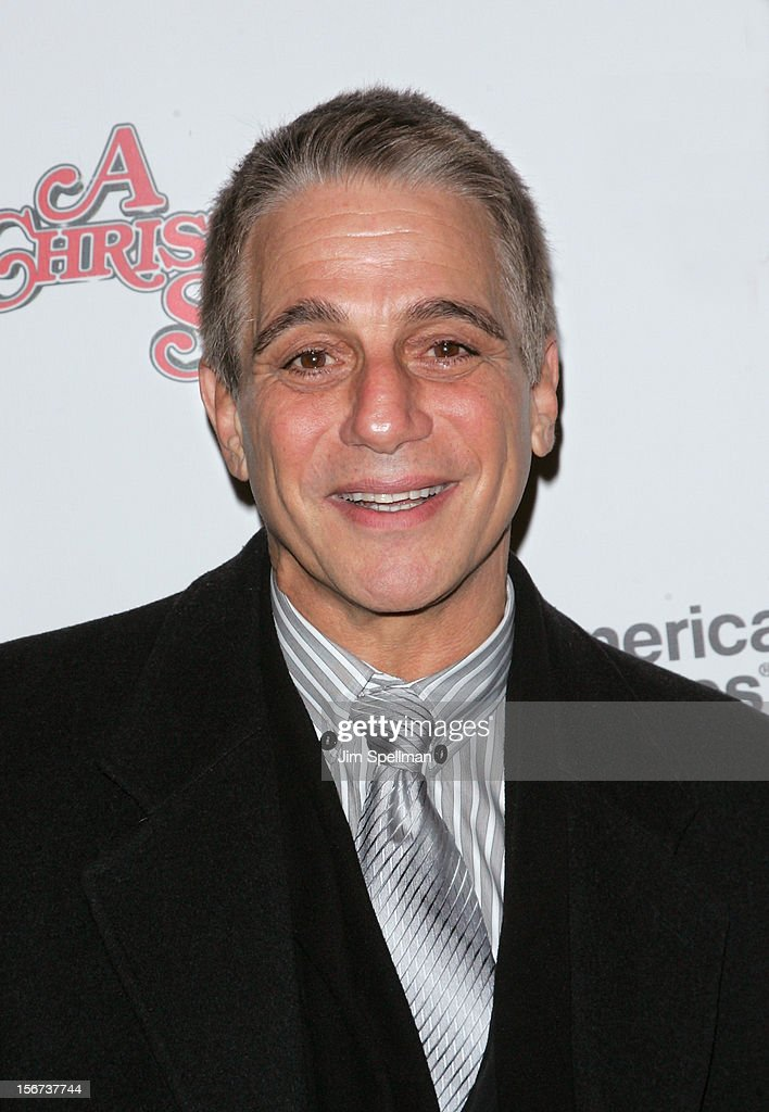Actor <a gi-track='captionPersonalityLinkClicked' href=/galleries/search?phrase=Tony+Danza&family=editorial&specificpeople=203133 ng-click='$event.stopPropagation()'>Tony Danza</a> attends the 'A Christmas Story: The Musical' Broadway Opening Night at Lunt-Fontanne Theatre on November 19, 2012 in New York City.