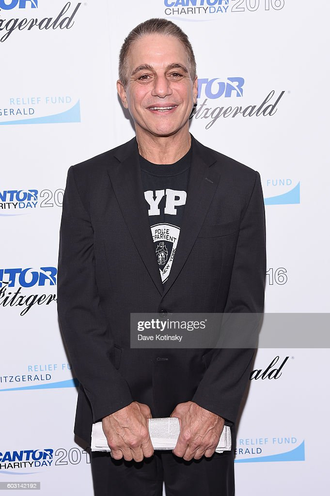 Actor Tony Danza attends the Annual Charity Day hosted by Cantor Fitzgerald, BGC and GFI at Cantor Fitzgerald on September 12, 2016 in New York City.