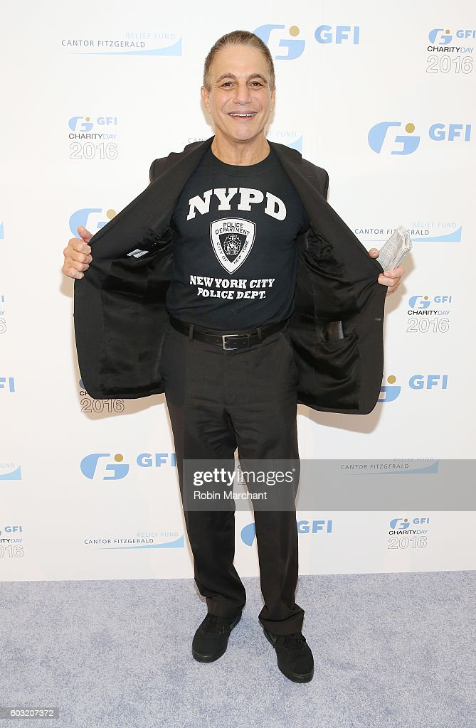 Actor Tony Danza attends the Annual Charity Day hosted by Cantor Fitzgerald, BGC and GFI at GFI Securities on September 12, 2016 in New York City.