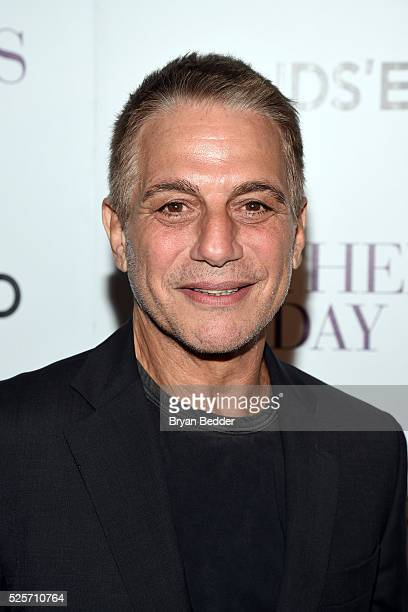 Actor Tony Danza attends the Cinema Society with Lands' End FIJI Water host a screening of 'Mother's Day' on April 28 2016 in New York City