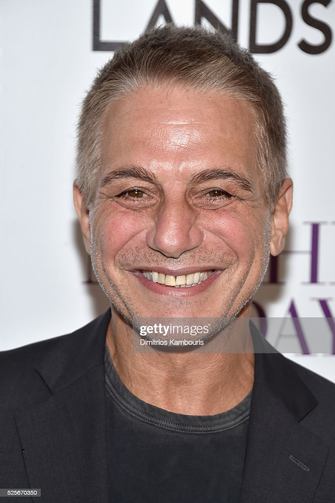Actor Tony Danza attends The Cinema Society with Lands' End screening of Open Road Films' 'Mother's Day' at Metrograph on April 28, 2016 in New York City.
