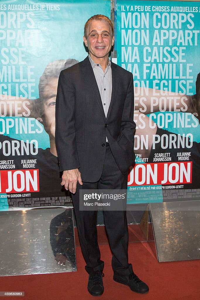 'Don Jon' Paris Premiere At UGC Cine Cite Les Halles In Paris