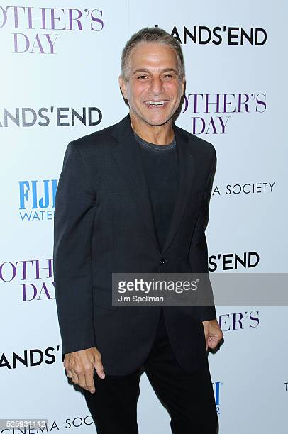 Actor Tony Danza attends the screening of Open Road Films' 'Mother's Day' hosted by The Cinema Society with Lands' End at Metrograph on April 28 2016...