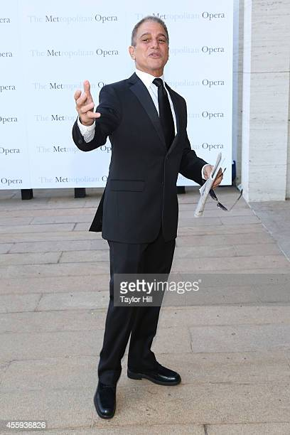 Actor Tony Danza attends the season opening of 'The Marriage of Figaro' at The Metropolitan Opera House on September 22 2014 in New York City