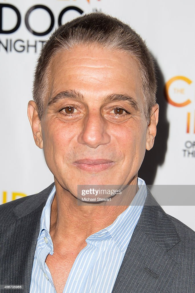 Actor Tony Danza attends the 'The Curious Incident Of The Dog In The Night-Time' Broadway Opening Night at The Ethel Barrymore Theatre on October 5, 2014 in New York City.