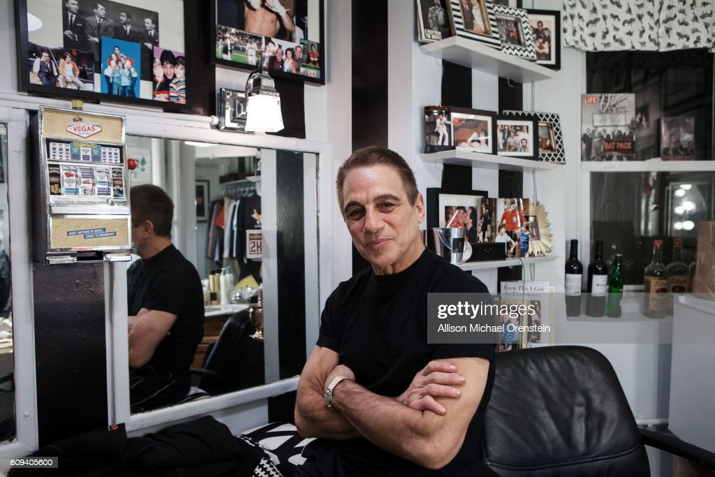 Actor Tony Danza is photographed for Wall Street Journal on January 30, 2015 in New York City.