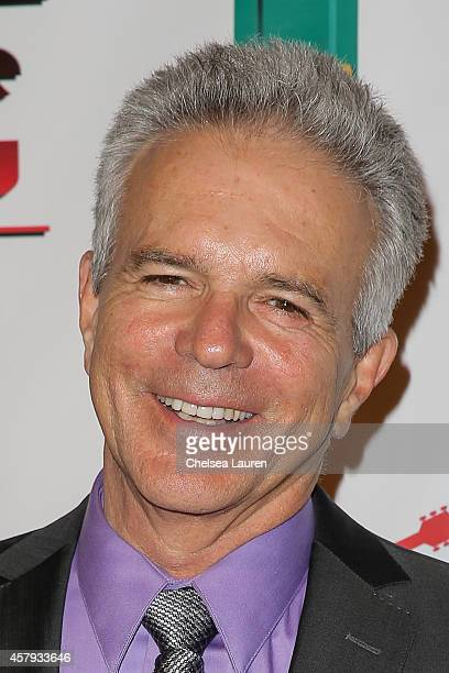 Actor Tony Denison arrives at an evening of art with Billy Morrison and Joey Feldman benefiting the Rock Against MS Foundation at Village Studios on...