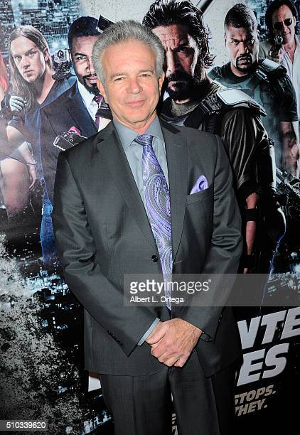 Actor Tony Denison arrives for the Screening Of Oscar Gold Productions' 'Vigilante Diaries' held at ArcLight Hollywood on February 4 2016 in...