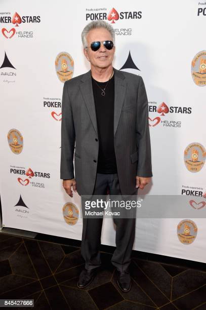 Actor Tony Denison at the Heroes for Heroes Los Angeles Police Memorial Foundation Celebrity Poker Tournament at Avalon on September 10 2017 in...