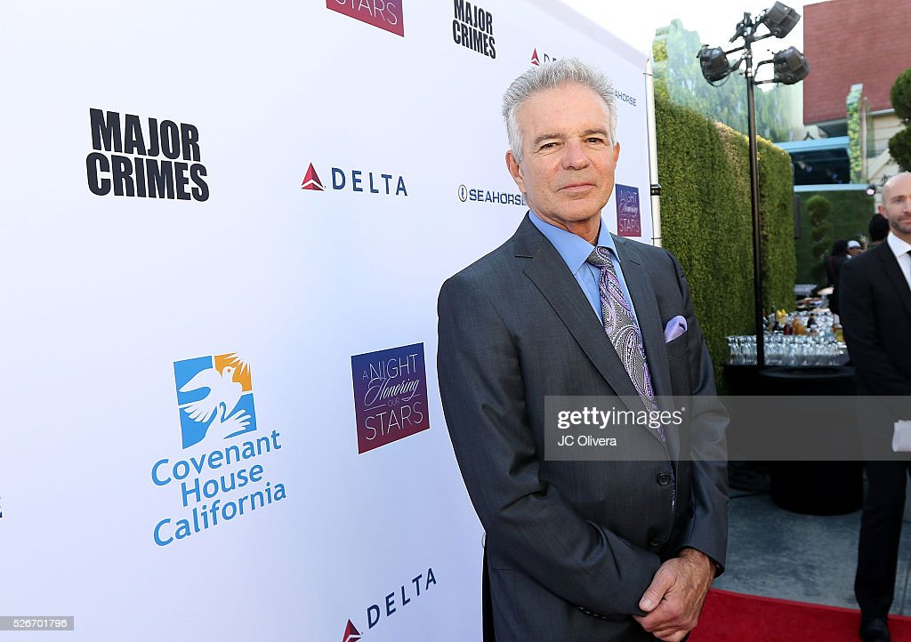 Actor Tony Denison attends Covenant House Of California's Annual Fundraising Gala, A Night Honoring Our Stars at The Globe Theatre at Universal Studios on April 30, 2016 in Universal City, California.