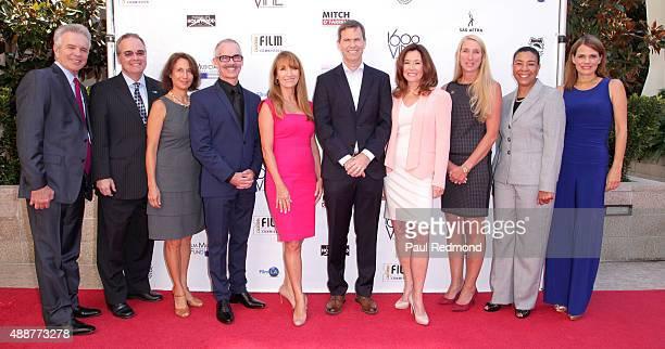 Actor Tony Denison President of Film LA Paul Audley Executive Director of LA Film Commission Amy Lemisch LA City Councilmember Mitch O'Farrell...