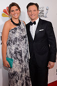 Actor Tony Goldwyn and daughter Anna MuskyGoldwyn attend the 44th NAACP Image Awards at The Shrine Auditorium on February 1 2013 in Los Angeles...