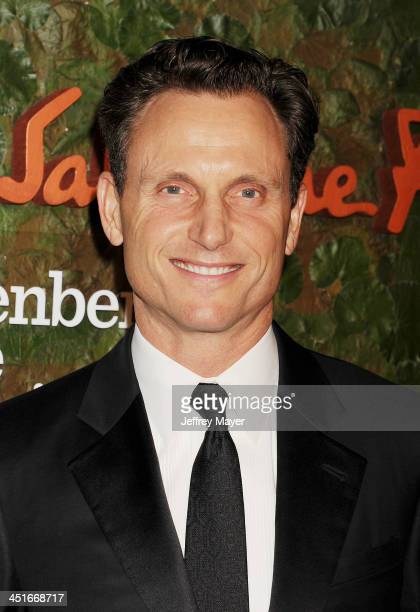Actor Tony Goldwyn arrives at the Wallis Annenberg Center For The Performing Arts Inaugural Gala at Wallis Annenberg Center for the Performing Arts...