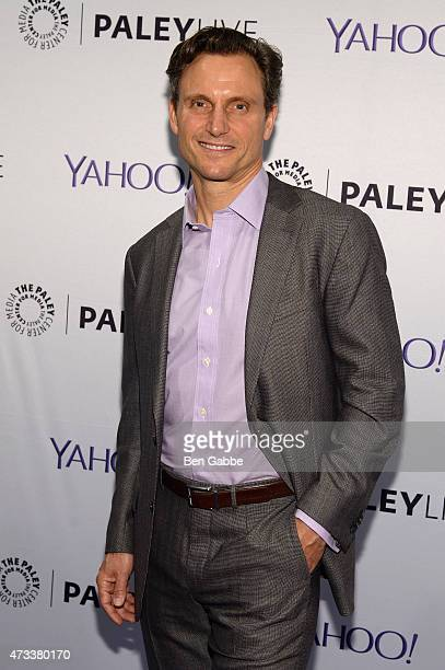 Actor Tony Goldwyn attends an evening with the cast of 'Scandal' presented by The Paley Center For Media at The Paley Center For Media on May 14 2015...