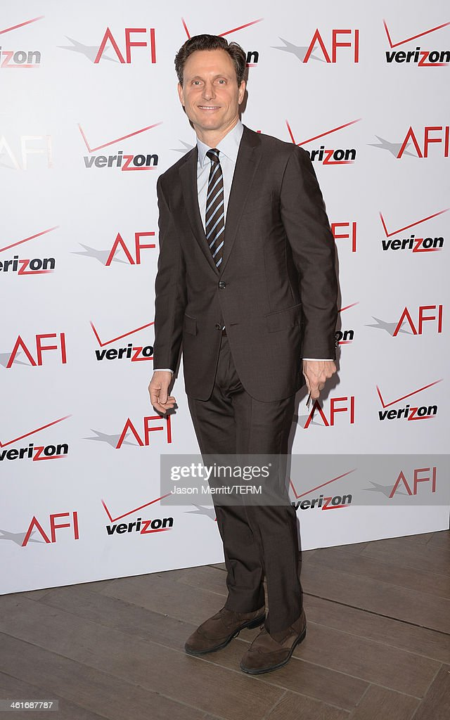 Actor <a gi-track='captionPersonalityLinkClicked' href=/galleries/search?phrase=Tony+Goldwyn&family=editorial&specificpeople=234897 ng-click='$event.stopPropagation()'>Tony Goldwyn</a> attends the 14th annual AFI Awards Luncheon at the Four Seasons Hotel Beverly Hills on January 10, 2014 in Beverly Hills, California.