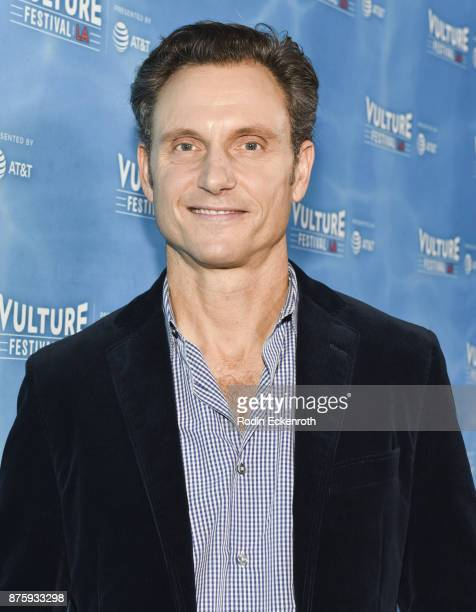 Actor Tony Goldwyn attends the Scandal Final Season Panel at Vulture Festival Los Angeles at Hollywood Roosevelt Hotel on November 18 2017 in...