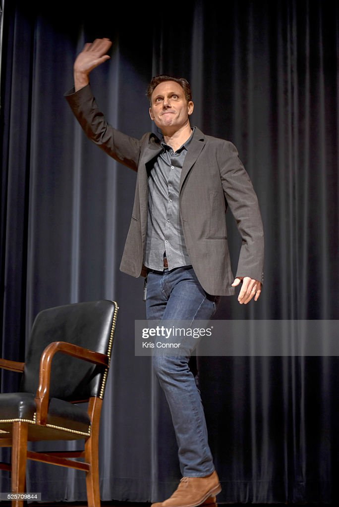 Actor <a gi-track='captionPersonalityLinkClicked' href=/galleries/search?phrase=Tony+Goldwyn&family=editorial&specificpeople=234897 ng-click='$event.stopPropagation()'>Tony Goldwyn</a> attends the 'Scandal-ous!' event hosted by the Smithsonian Associates with Shonda Rhimes and the cast of ABC's Scandals at the University of District of Columbia Theater of the Arts on April 28, 2016 in Washington, DC.