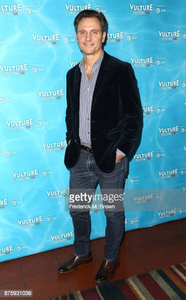 Actor Tony Goldwyn attends the Vulture Festival Los Angeles at the Hollywood Roosevelt Hotel on November 18 2017 in Hollywood California