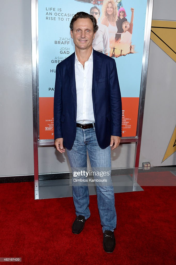 Actor <a gi-track='captionPersonalityLinkClicked' href=/galleries/search?phrase=Tony+Goldwyn&family=editorial&specificpeople=234897 ng-click='$event.stopPropagation()'>Tony Goldwyn</a> attends the 'Wish I Was Here' screening at AMC Lincoln Square Theater on July 14, 2014 in New York City.