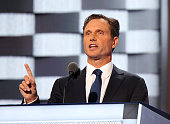 Actor Tony Goldwyn delivers remarks on the second day of the 2016 Democratic National Convention at Wells Fargo Center on July 26 2016 in...