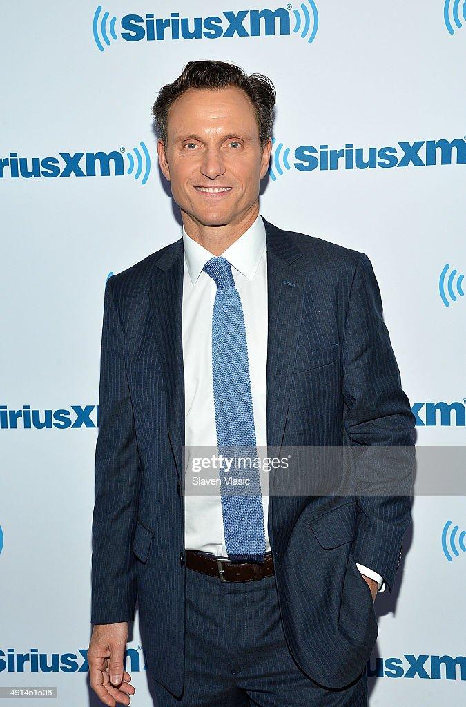 Actor Tony Goldwyn visits at SiriusXM Studios on October 5, 2015 in New York City.