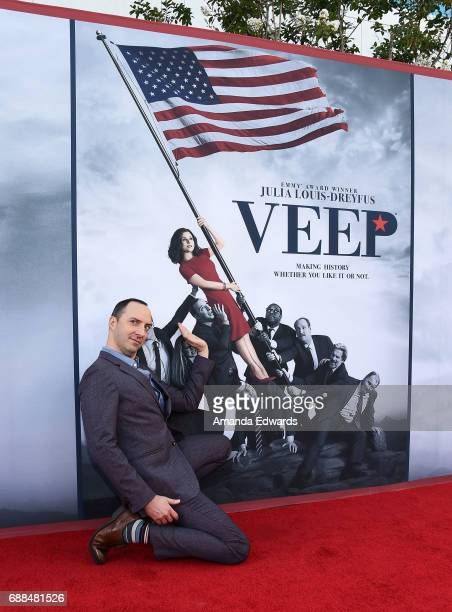 Actor Tony Hale arrives at HBO's 'Veep' FYC Event at the Saban Media Center on May 25 2017 in North Hollywood California
